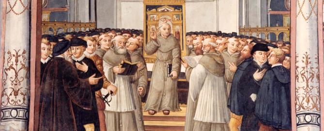 71 - S.Bernardino guardiano del convento di S.Francesco a Bergamo
