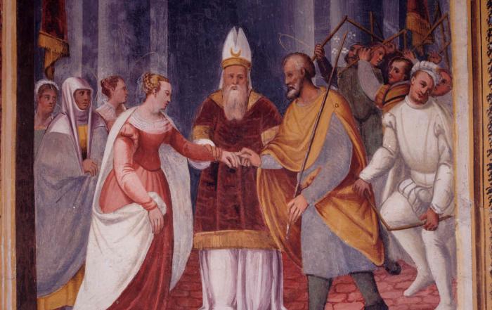 Conversation on Raffaello echoes in Lallio