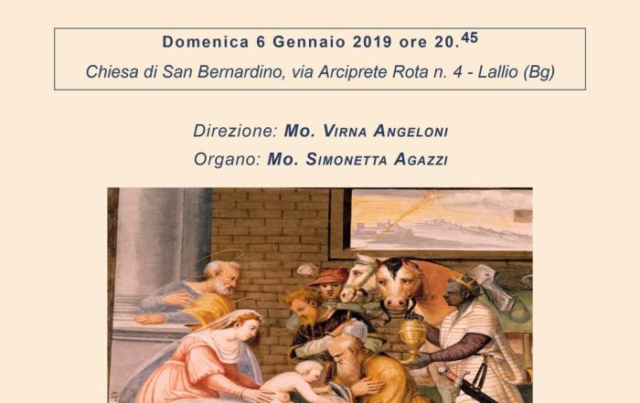 Concerto Epifania 2019