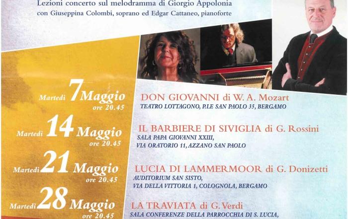 """(Italiano) Martedì 4 giugno lezione concerto su """"Tosca"""""""