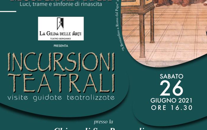 (Italiano) Incursione teatrale sabato 26 giugno