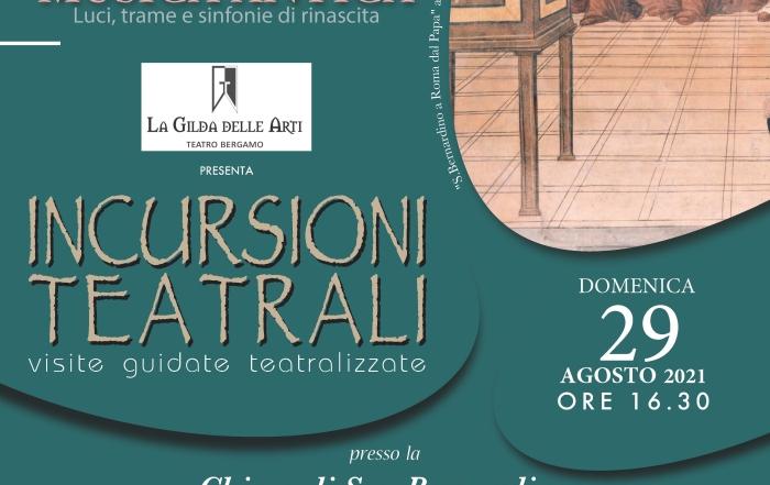(Italiano) Visita guidata teatralizzata domenica 29 agosto h 16.30